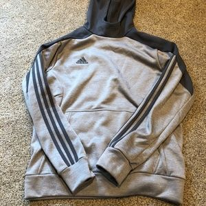 Gray Adidas Sweatshirt